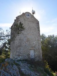 Idée de Sortie Simiane Collongue Chapelle des Pénitents et Tour de l'Horloge