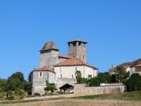 Idée de Sortie Saint Sulpice de Roumagnac Eglise forteresse de Siorac de Ribérac