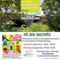 Idée de Sortie Montmartin le Haut Les Journées Européennes du Patrimoine à Spoy
