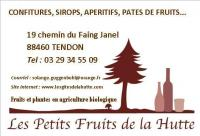 Idée de Sortie Tendon LES PETITS FRUITS DE LA HUTTE