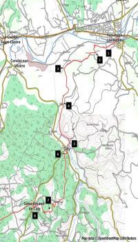 Idée de Sortie Ayen Dans les pas des Hommes de Lascaux Etape1: Terrasson-St Amand de Coly