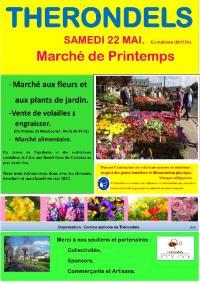 Evenement Mur de Barrez Marché de fleurs et plants