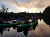 Evenement Aunay sur Odon Balade nocturne en canoë-kayak avec un guide nature