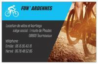 Idée de Sortie Thilay Fun'Ardennes Location de vélos et kartings