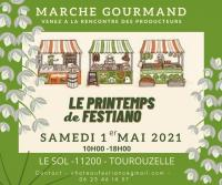 Evenement Saint Couat d'Aude MARCHÉ GOURMAND LE PRINTEMPS DE FESTIANO