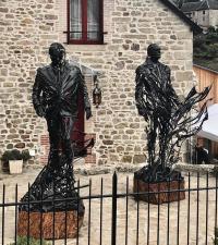 Evenement Limousin Sculptures Présidentielles