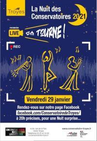 Evenement Torvilliers La Nuit des Conservatoires 2021