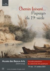 Evenement Charmont sous Barbuise Exposition - Le cabinet des arts graphiques : Chemin faisant Paysages du 19ème siècle