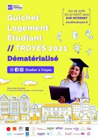 Evenement Clérey Guichet Logement Etudiant - Troyes 2021