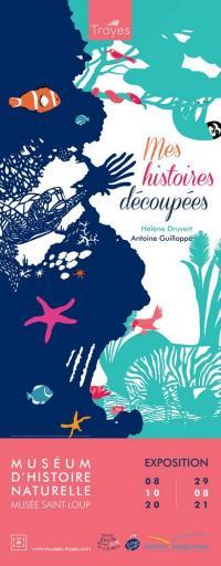 Evenement Clérey Exposition - Mes histoires découpées - autour des illustrateurs Hélène Druvert et Antoine Guilloppé