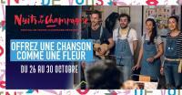 Evenement Charmont sous Barbuise Festival Nuits de Champagne - Offrez une chanson comme une fleur