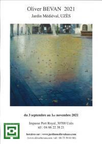 Evenement Aigaliers Exposition - Oliver Bevan 2021