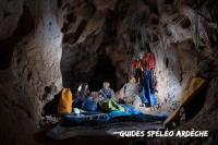 Idée de Sortie Vallon Pont d'Arc Guides spéléo d'Ardèche