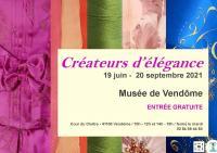 Evenement Loir et Cher Exposition : Créateurs d'élégance à Vendôme