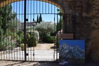 Festival-d-art-contemporain-de-Cours-et-Jardins-des-Arts Vers Pont du Gard