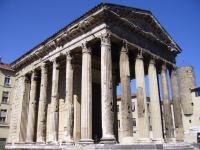 Idée de Sortie Isère Temple d'Auguste et de Livie