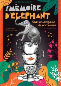 Evenement Soorts Hossegor Reporté / Scène d'Albret / Théâtre Comédie / Une mémoire d'éléphant dans un magazin de porcelaine