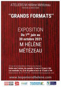 Evenement Tours Exposition GRANDS FORMATS - Peinture au brin d'osier