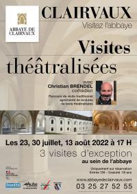 Idée de Sortie Ville sous la Ferté Visite théâtralisée de l'Abbaye de Clairvaux