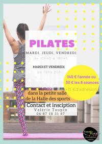 Evenement Saint Paul le Jeune PILATES