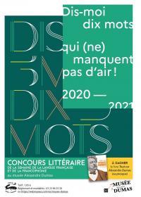Evenement Vichel Nanteuil Concours littéraire Dis-moi dix mots qui (ne) manquent pas d'air