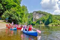 Idée de Sortie Dordogne Canoës Azur - Camping de la Bouysse