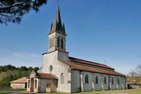 Idée de Sortie Landes Eglise Notre-Dame d'Ychoux