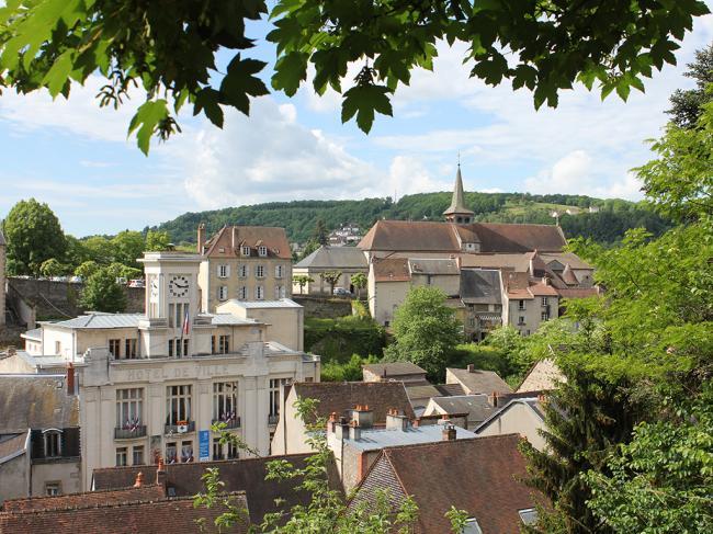 Lecture de paysage : Aubusson, entre terrasses et vallée-Credit