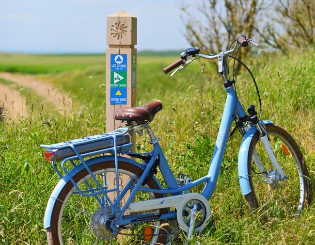 Les Vélos du Grand Site de France les Deux-Caps-Credit