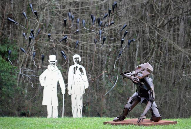 Le Jardin Littéraire de Sculptures-Credit