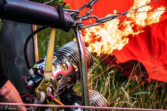 Survol de la Brenne en montgolfière-Credit