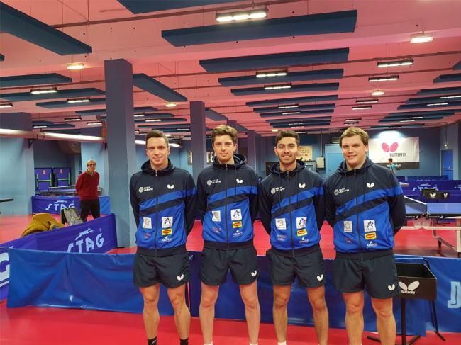 Championnat de France de Tennis de Table par équipe-Credit-ttsq