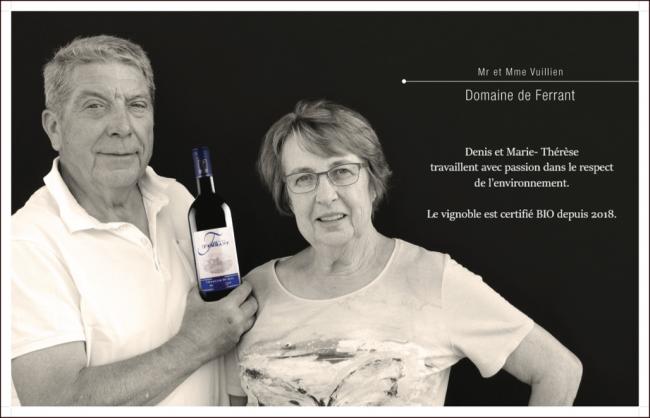 Domaine de Ferrant - SCEA Vignobles Vuillien-Credit