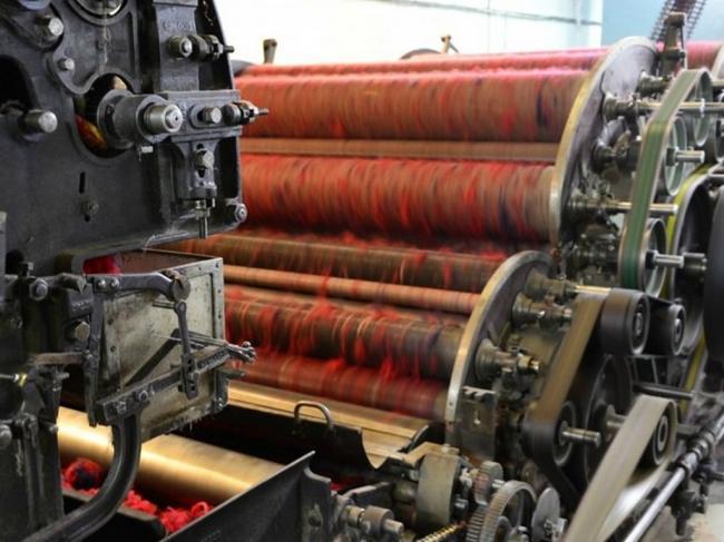 Découverte de la filature de laines Terrade-Credit