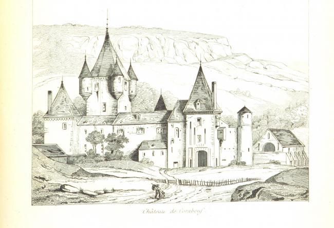 Château de Coraboeuf-Credit-Le-chateau-de-Corabeuf-Auteur-inconnuUnknown-author-Public-domain