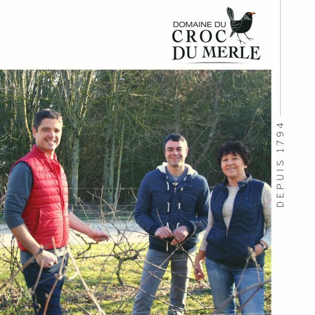 Domaine du Croc du Merle-Credit