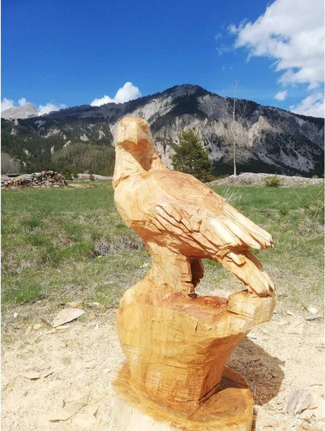Sculptures réalisées à la tronçonneuse par Didier Charlot-Sculptures-realisees-a-la-tronconneuse-par-Didier-Charlot