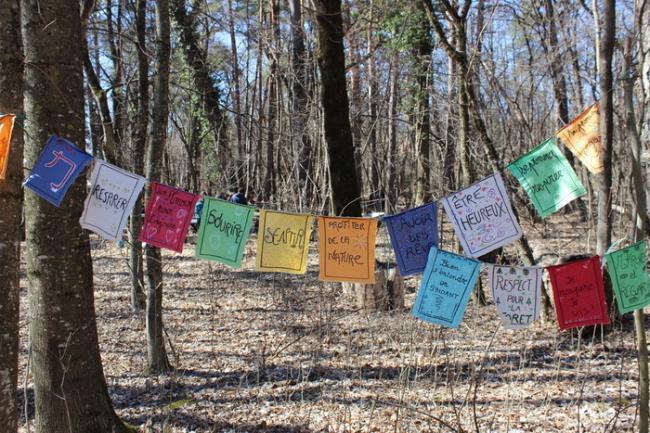 Visite du jardin pédagogique et du sentier dans la forêt- réservé aux scolaires-Visite-du-jardin-pedagogique-et-du-sentier-dans-la-foret-reserve-aux-scolaires