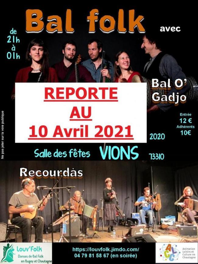 Reporté 2021 Stage danses Sud-Ouest etamp; Bal Folk avec Bal O'Gadjo-Reporte-2021-Stage-danses-Sud-Ouest-etamp-Bal-Folk-avec-Bal-O-Gadjo