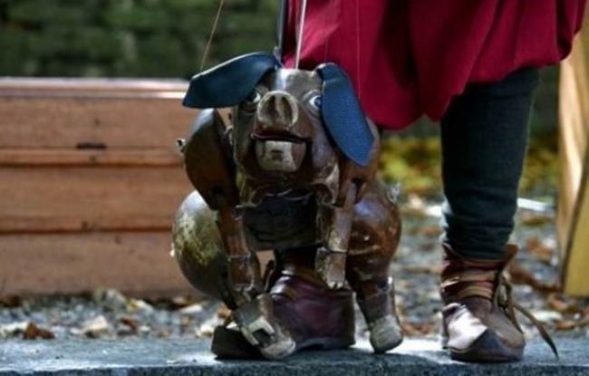 Spectacle de Marionnettes Le jugement dernier du cochon par la compagnie du Polisson-Credit